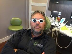 Zak in glasses.